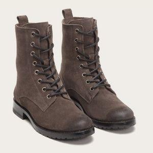 Frye Natalie Lace up Combat Boots sz 7.5